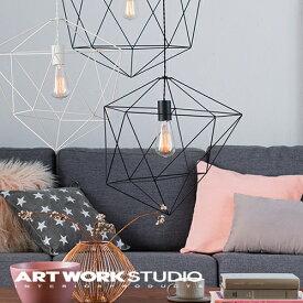 【アートワークスタジオ公式】【ポイント10倍】 ARTWORKSTUDIO アートワークスタジオ Ambient form2-pendant アンビエントフォーム2ペンダント ペンダントライト 1灯 E26 60W スチールワイヤー LED対応 おしゃれ ワイヤーフレーム 北欧 シンプル レトロ