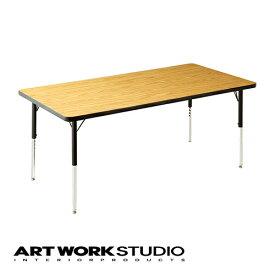 【アートワークスタジオ公式】【ポイント10倍】 VIRCO バルコ 4000 Table (L) 4000テーブル(L) ダイニングテーブル おしゃれ W152.3×D76.0cm 圧縮合板 高さ調整可能 おしゃれ アメリカン ミッドセンチュリー ビンテージ