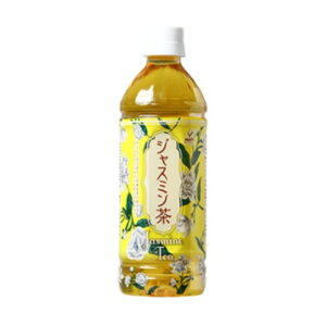富永貿易 神戸居留地ジャスミン茶ペット500ML×24本
