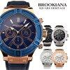Brookiana BROOKIANA BA2308 迅雷手表手表手表品牌手表男士手表时尚生日礼物礼物礼物到比 ♪ [日本普通版],并 []]