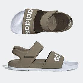 【決算特価】 アディダス メンズ レディース サンダル アディレッタ ADILETTE SANDAL (F35414) カーキ adidas 水泳 シューズ スリッパ