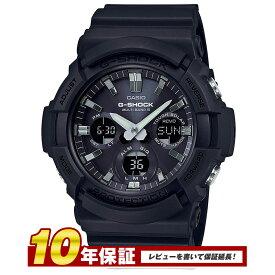 【全品送料無料】 CASIO G-SHOCK 電波ソーラー GAW-100B-1A Gショック アナログ デジタル 腕時計 メンズ ブラック 防水 電波 ソーラー カシオ 国内品番 GAW-100B-1AJF