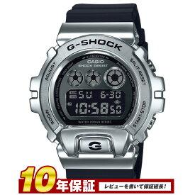 【全品送料無料】CASIO カシオカシオ G-SHOCK 腕時計 メンズ METAL COVERED メタルカバー シルバー GM-6900-1