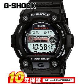【全品送料無料】 【10年保証】CASIO カシオ G-SHOCK ブラック メンズ 腕時計 G-ショック 電波 ソーラー gw-7900-1 GW-7900-1JF