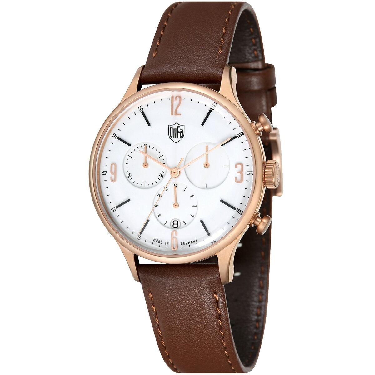 DUFA ドゥッファ DF-9002-05 VAN DER ROHE 時計 腕時計 メンズ レディース 男性 女性 ホワイト おしゃれ プレゼント 贈り物 ギフト ドイツ バウハウス [海外正規商品][送料無料][あす楽]