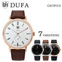 DUFA ドゥッファ GROPIUS グロピウス DF-9001-01,02,03,05,0B,0C,0F 時計 腕時計 メンズ レディース 男性 女性 ブラッ...
