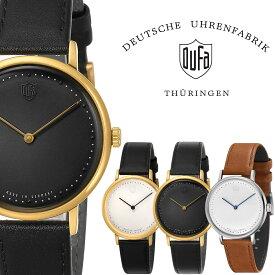 DUFA ドゥッファ DUFA GROPIUS 2hands 時計 腕時計 メンズ レディース 男性 女性 ホワイト ブラック