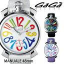 ガガミラノ GAGA MILANO MANUALE マヌアーレ 48mm 5010シリーズ メンズ レディース 時計 腕時計 プレゼント ギフト 贈り物 [あす... ランキングお取り寄せ
