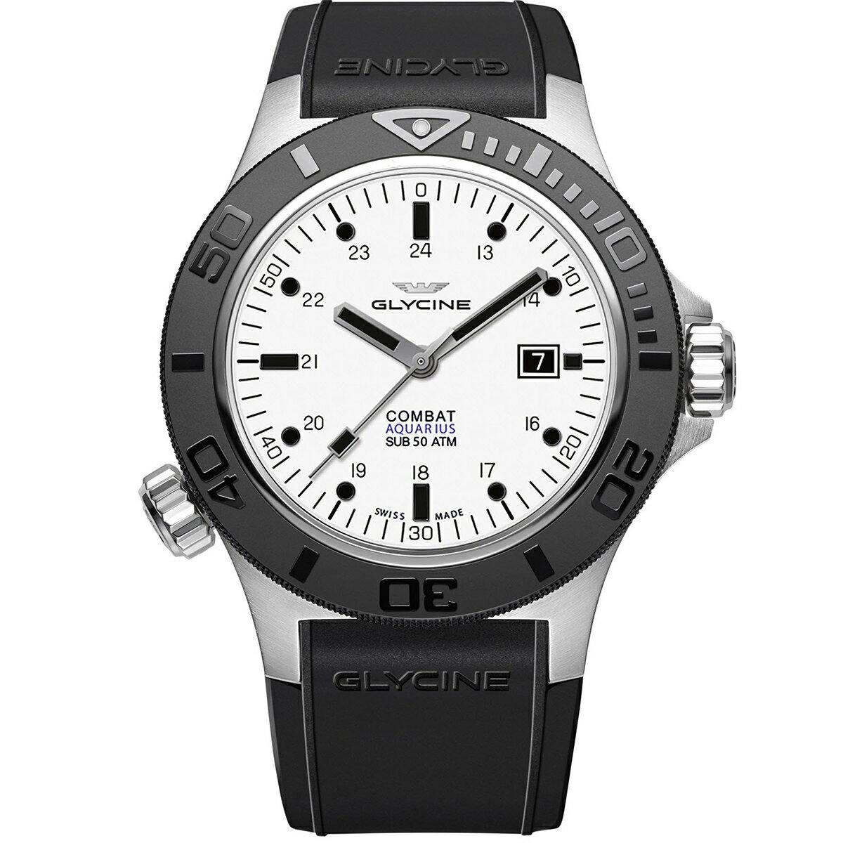 グライシン グリシン GLYCINE コンバット サブ アクエリアス COMBAT SUB AQUARIUS GL0037 メンズ 時計 腕時計 自動巻き オートマチック スイス製 スイスメイド ダイバーズ