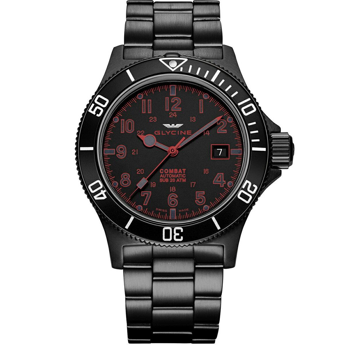 グライシン グリシン GLYCINE コンバット サブ COMBAT SUB 42 GL0080 メンズ 時計 腕時計 自動巻き オートマチック スイス製 スイスメイド パイロット