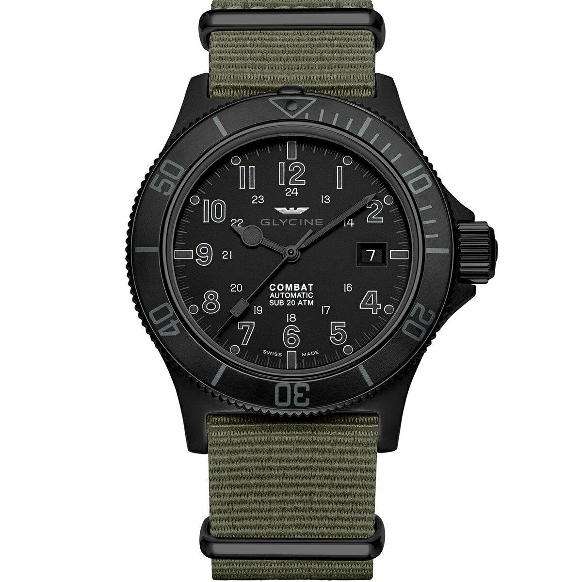 グライシン グリシン GLYCINE コンバット サブ COMBAT SUB 42 GL0084 メンズ 時計 腕時計 自動巻き オートマチック スイス製 スイスメイド パイロット