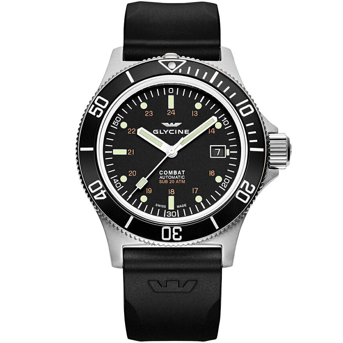 グライシン グリシン GLYCINE コンバット サブ COMBAT SUB 42 GL0087 メンズ 時計 腕時計 自動巻き オートマチック スイス製 スイスメイド パイロット