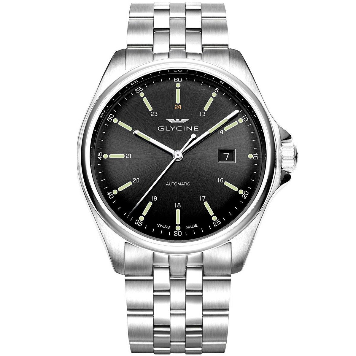 グライシン グリシン GLYCINE コンバット6 クラシック COMBAT 6 CLASSIC 43 GL0101 メンズ 時計 腕時計 自動巻き オートマチック スイス製 スイスメイド パイロット