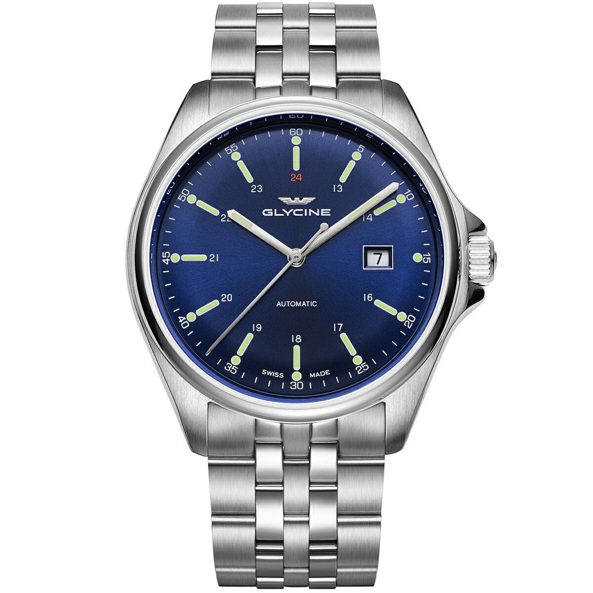 グライシン グリシン GLYCINE コンバット6 クラシック COMBAT 6 CLASSIC 43 GL0102 メンズ 時計 腕時計 自動巻き オートマチック スイス製 スイスメイド パイロット