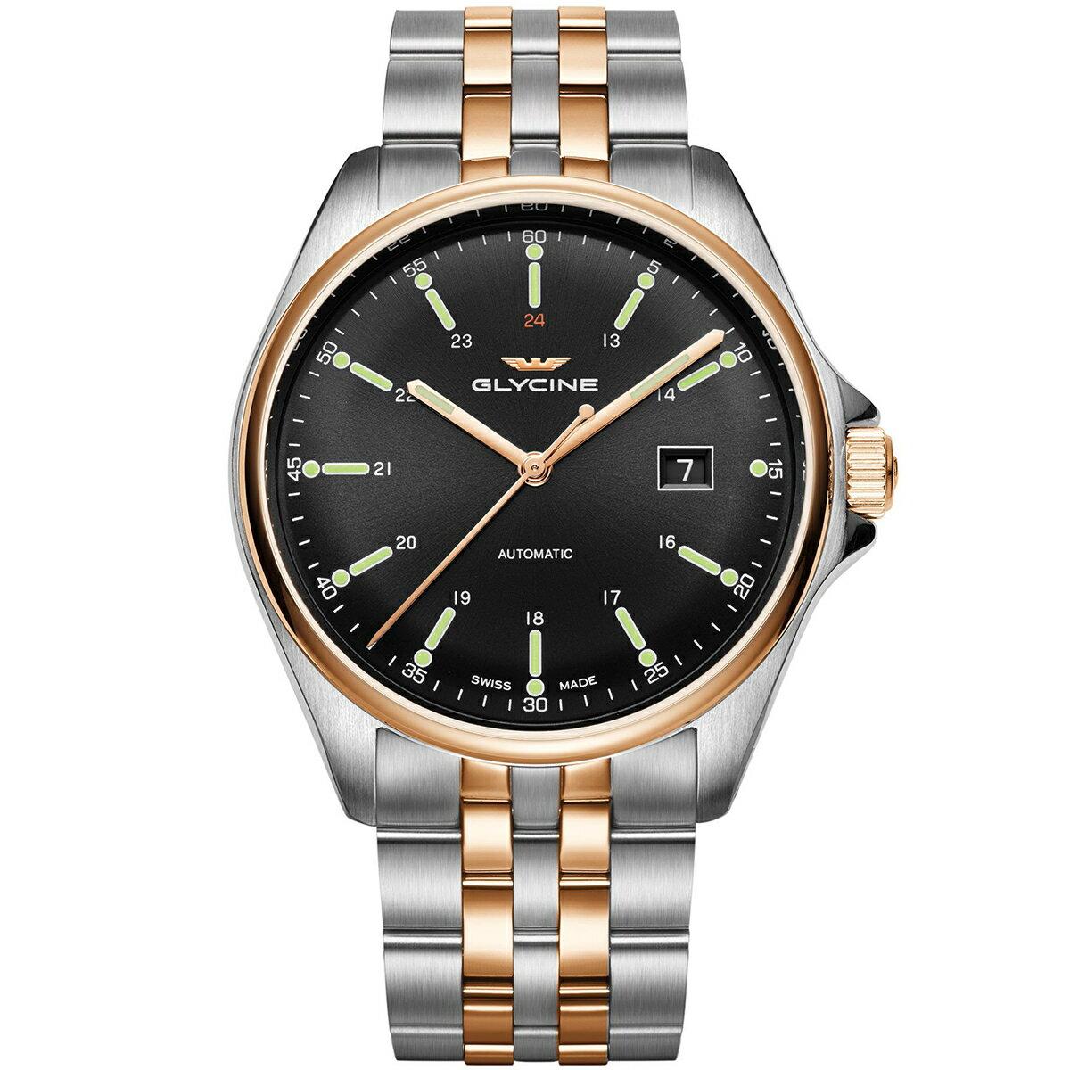 グライシン グリシン GLYCINE コンバット6 クラシック COMBAT 6 CLASSIC 43 GL0103 メンズ 時計 腕時計 自動巻き オートマチック スイス製 スイスメイド パイロット