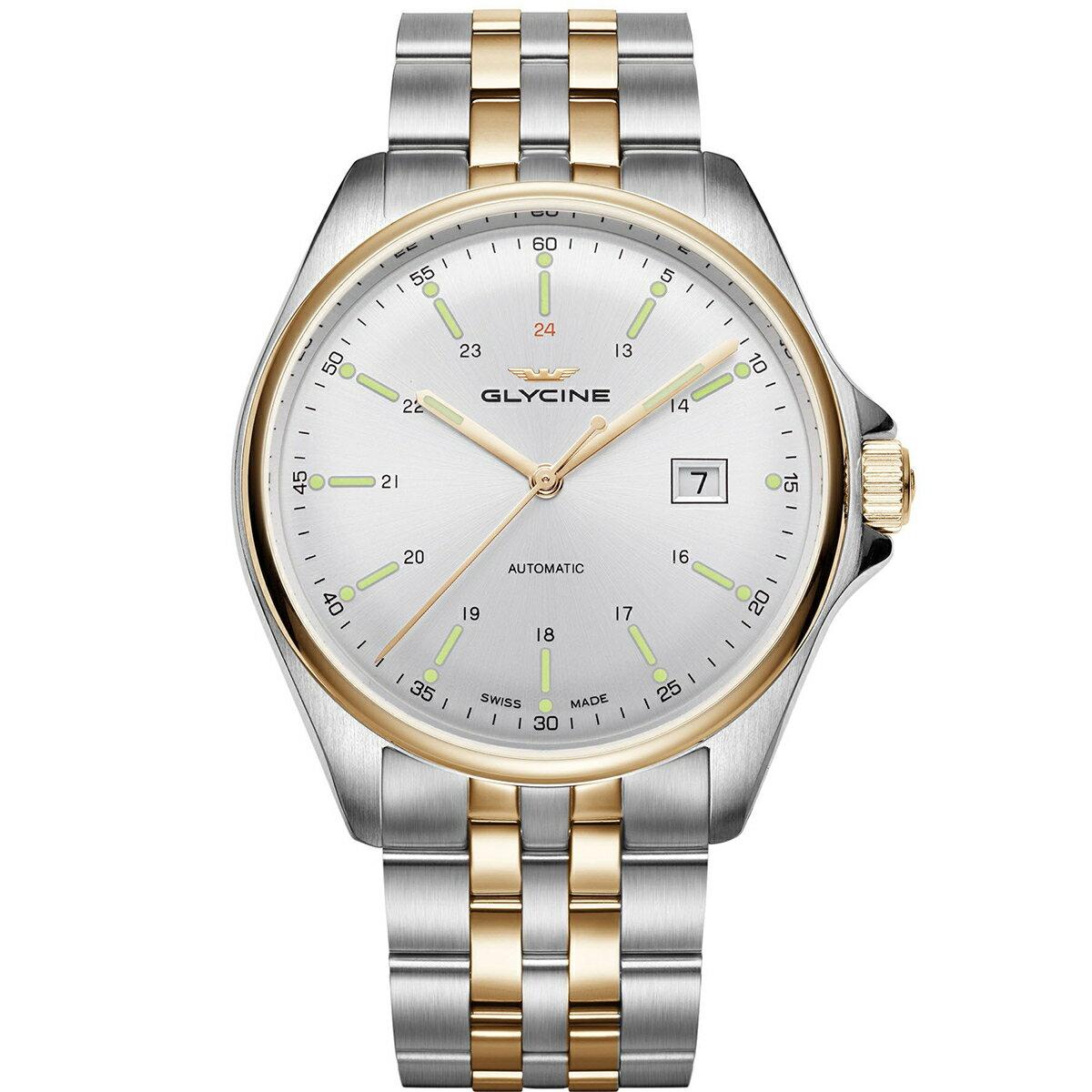 グライシン グリシン GLYCINE コンバット6 クラシック COMBAT 6 CLASSIC 43 GL0104 メンズ 時計 腕時計 自動巻き オートマチック スイス製 スイスメイド パイロット