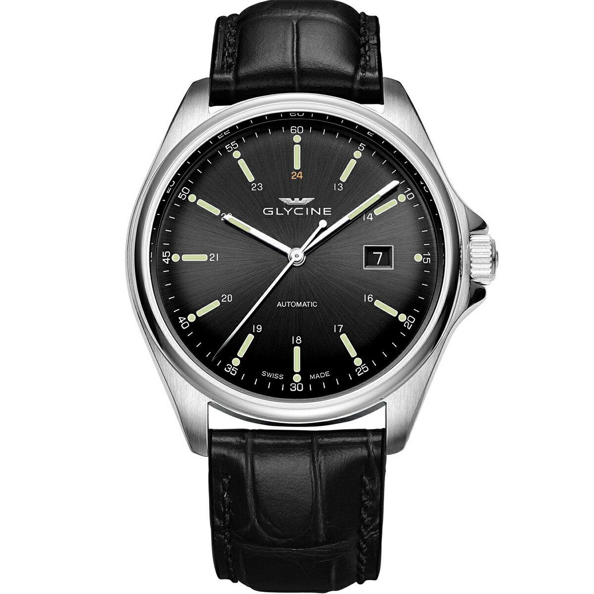 グライシン グリシン GLYCINE コンバット6 クラシック COMBAT 6 CLASSIC 43 GL0109 メンズ 時計 腕時計 自動巻き オートマチック スイス製 スイスメイド パイロット
