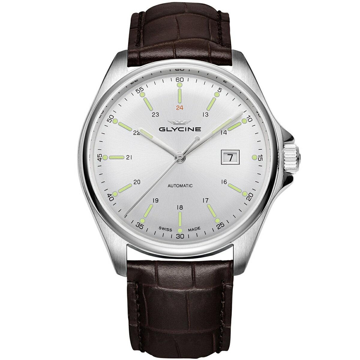 グライシン グリシン GLYCINE コンバット6 クラシック COMBAT 6 CLASSIC 43 GL0110 メンズ 時計 腕時計 自動巻き オートマチック スイス製 スイスメイド パイロット