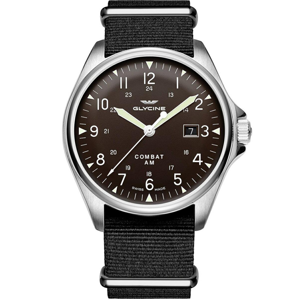 グライシン グリシン GLYCINE コンバット6 ヴィンテージ COMBAT 6 VINTAGE GL0123 メンズ 時計 腕時計 自動巻き オートマチック スイス製 スイスメイド パイロット