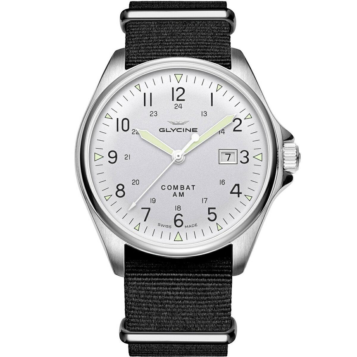グライシン グリシン GLYCINE コンバット6 ヴィンテージ COMBAT 6 VINTAGE GL0124 メンズ 時計 腕時計 自動巻き オートマチック スイス製 スイスメイド パイロット