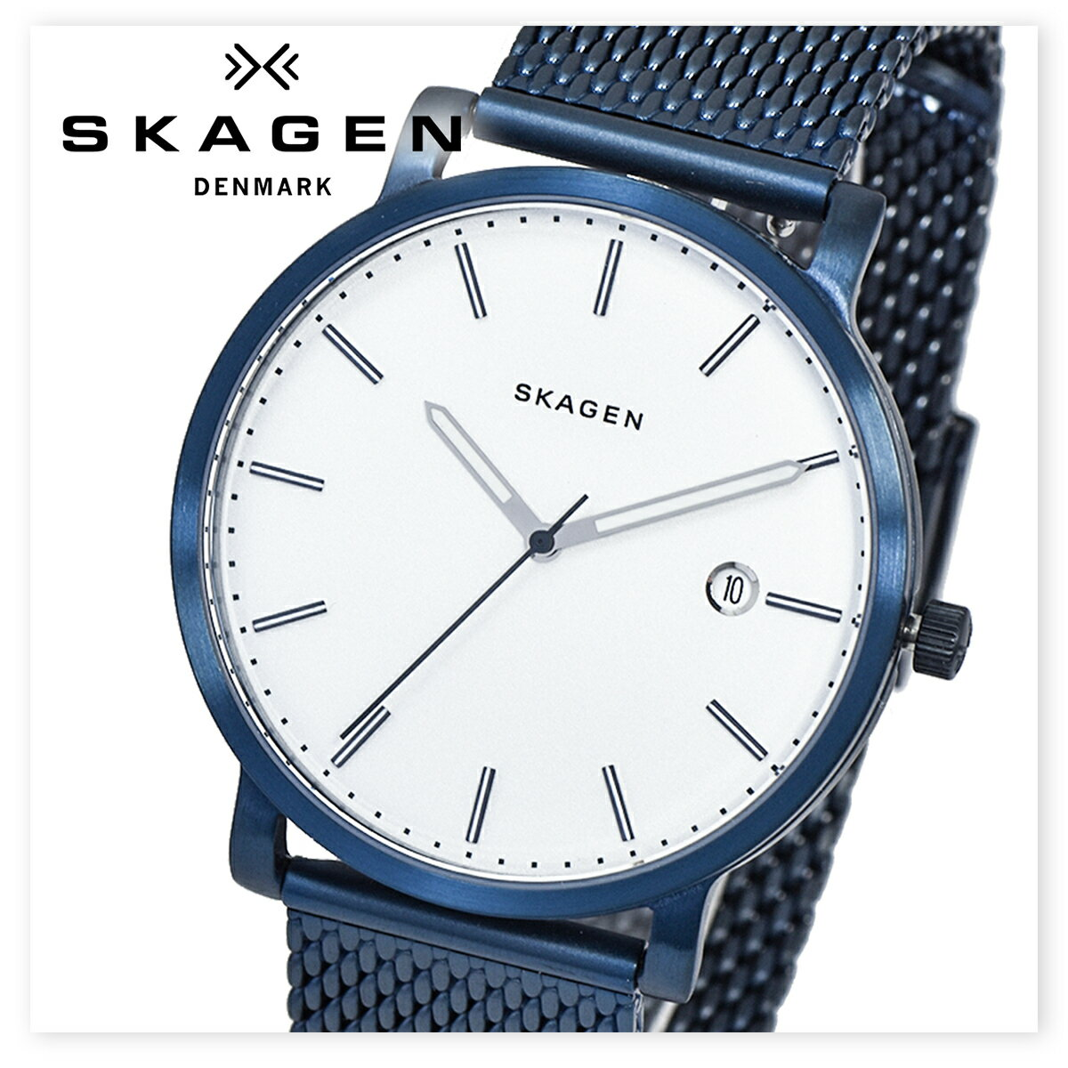 SKAGEN スカーゲン SKW6326 時計 腕時計 メンズ レディース ユニセックス 北欧 スリム プレゼント ギフト [海外正規商品][送料無料][あす楽]