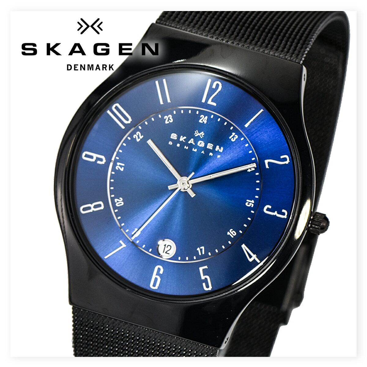 SKAGEN スカーゲン T233XLTMN 時計 腕時計 メンズ レディース ユニセックス 北欧 スリム プレゼント ギフト [海外正規商品][送料無料][あす楽]