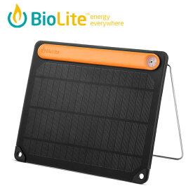 BioLite バイオライト ソーラーパネル5 PLUS 1824261 ソーラーパネル 薄型ソーラーパネル 折りたたみ 軽量 太陽光 スマホ充電