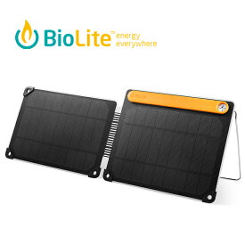 BioLite バイオライト ソーラーパネル10 PLUS 1824263 ソーラーパネル 薄型ソーラーパネル 折りたたみ 軽量 太陽光 スマホ充電