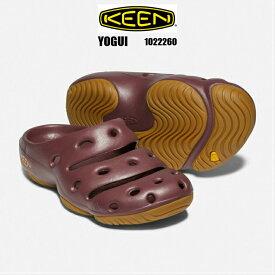 KEEN YOGUI 1022260 ZINFANDEL MEN 正規品 keen キーン ヨギ メンズサンダル 男性靴 クロッグサンダル オフィスシューズ ガーデン 楽天検索 楽天市場 サーチ ランキング 通販 2020年NEWカラー 25cm 26cm 27cm 28cm 29cm