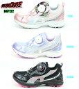 ダイヤルDRIVE R47122 BLACK PINK PURPLE ダイヤルドライブ ジュニアスニーカー 子供靴 女の子靴 運動会靴 1等賞 楽天…