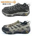 MERRELL MOAB 2 GORE-TEX J06035 J06037 メレル モアブ 正規品 ゴアテックス 登山靴 アウトドアシューズ トレッキング…