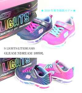 SKECHERS S LIGHTS-LITEBEAMS-GLEAM N DREAM NP...