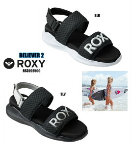ROXY BELIEVER2 RSD202500 BLK SLV ロキシー スポーツサンダル スニーカー 婦人靴 正規品 roxy サーフブランド ビーチ 楽天検索 楽天市場 サーチ ランキング 通販 2021年モデル 23cm 24cm 25cm