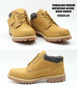 Timberland PREMIUM WATER PROOF OXFORD 073538-231 WHEAT NUBUCK 正規品 ティンバーランド クラッシック プレミアム ウォータープルーフ オックスフォード メンズブーツ スニーカー 靴 楽天検索 楽天市場 サー