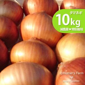タマネギ 玉ねぎ たまねぎ 農薬90%カット 特別栽培【10kg】