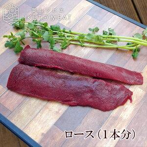 鹿肉 ロース ブロック(1本分)ジビエ料理【500〜600g】