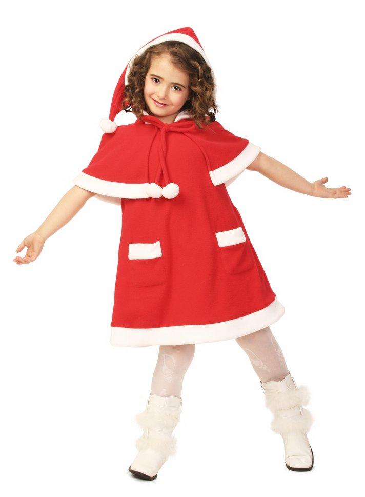 キッズケープサンタ 120 クリスマス コスプレ 家族クリスマス キッズ コスチューム サンタ サンタクロース 衣装