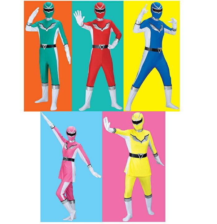 送料無料 爆笑戦隊パーティーレンジャー ウイング 5人組セット 戦隊ヒーロー