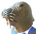 アニマルマスク セイウチ かぶりもの アニマル 動物 動物マスク