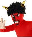 節分 豆まき 鬼 衣装 リアル赤鬼 かつら マスクセット 節分衣装 パーティーグッズ 仮装衣装 コスチューム 赤鬼 節分 …