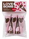 LOVE BOMB(ラブボム)クラッカー 5個入り クラッカー パーティー ウエディング 盛り上げ