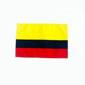 サッカー応援 コロンビア代表 応援 コロンビア国旗≪卓上旗サイズ 16×24cm≫ 高級テトロン製 国旗