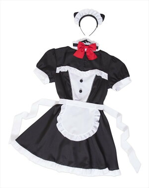 トキメキグラフィティネコミミメイドレディースコスプレ衣装コスチューム仮装