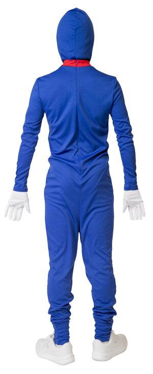 ブルータイツマンドラえもんコスプレパーティー全身タイツ変装仮装ユニセックス衣装コスチュームなりきりキャラ男女兼用