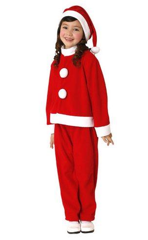 キッズサンタスーツ 140 クリスマス コスプレ 家族クリスマス キッズ コスチューム サンタ サンタクロース 衣装
