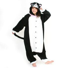 SZJ-2638 ネコ アニマル(動物)着ぐるみ どうぶつ キャラクター パジャマ 大人用 女性 仮装 変装 コスプレ