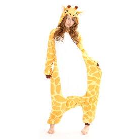 SZJ-2644 キリン アニマル(動物)着ぐるみ どうぶつ キャラクター パジャマ 大人用 女性 仮装 変装 コスプレ