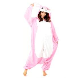 送料無料 SZJ-2666 ウサギ アニマル(動物)着ぐるみ どうぶつ キャラクター パジャマ 大人用 女性 仮装 変装 コスプレ イースターラビット イースター うさぎ