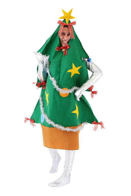 ツリーマン Men's クリスマス コスプレ コスチューム クリスマスツリー