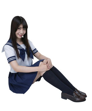カラーセーラー紺4L仮装衣装コスプレコスチュームアイドル女装男性用